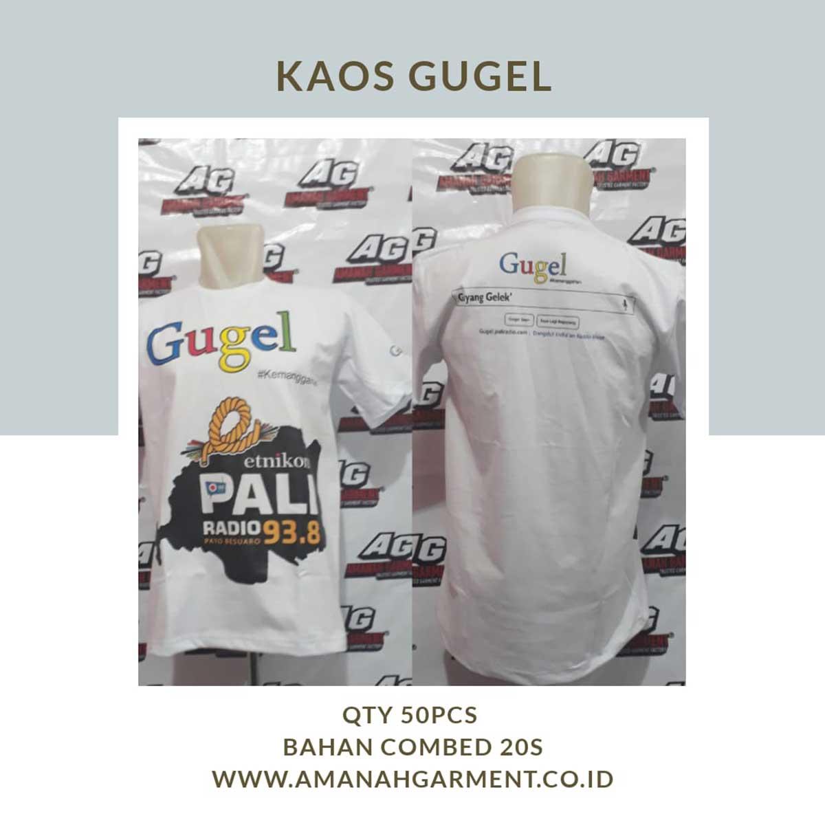 Pembuatan Kaos Online