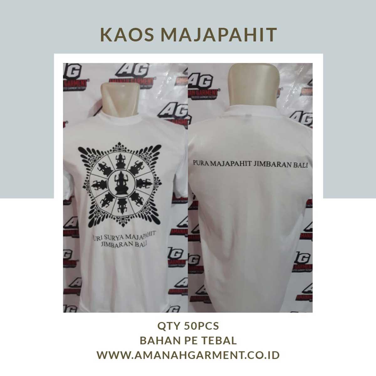 Jasa Produksi Kaos Sablon Murah Online di Bandung