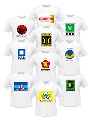 Daftar Harga Kaos Partai Murah Di Bandung
